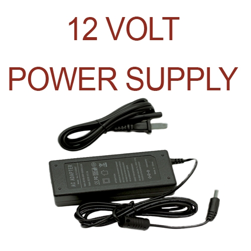 12 VOLTS POWER SUPPLY LED ROLLS