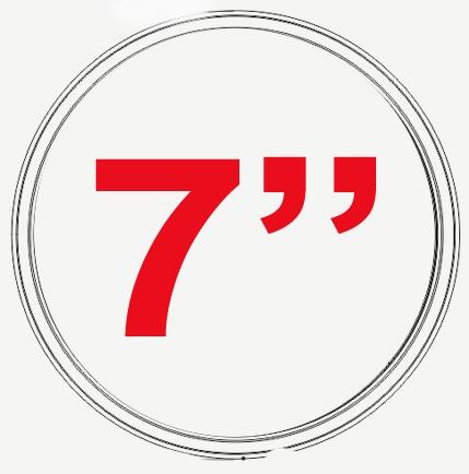 7 INCH CONVERSION