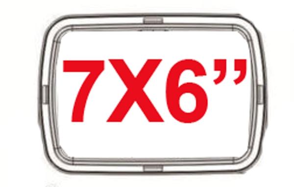 7X6 INCH CONVERSION