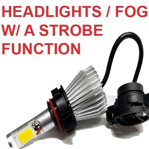 HEADLIGHTS W/ STROBE