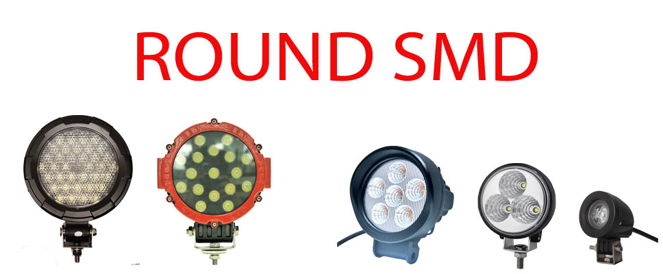 Round Work Lights