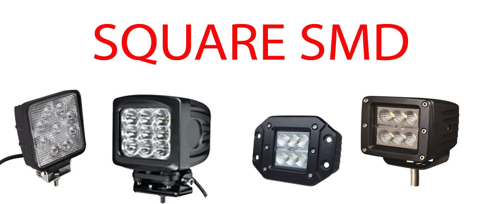 Square Work Lights
